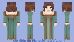A tale of hairnets and circlets [LotC] Minecraft Skin