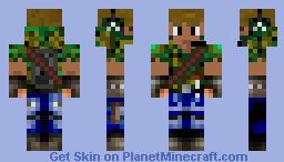 Army man Minecraft Skin
