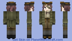 Anne Caroline, the one-eyed Princess [LotC] Minecraft Skin