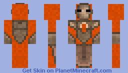 Molten Armor (terraria) Minecraft Skin
