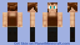 Villager (BlackSmith) Minecraft Skin