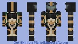 Sci-fi Trooper - unfinished future concept Minecraft Skin