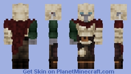 Dark elf MCREE (DO NOT USE) Minecraft Skin