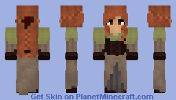 Female Dwarf Minecraft Skin
