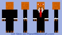 vampire beaver Minecraft Skin
