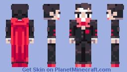 Pretty Vampire Minecraft Skin