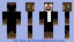 Vampire Monkey Minecraft Skin