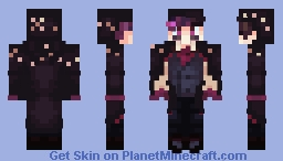 Virgil Sanders - Anxiety (Vampire Costume) Minecraft Skin