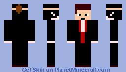 vampire (with mask) Minecraft Skin