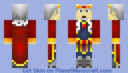 Battle Chasers - King Vaneer Minecraft Skin