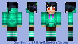 Vanellope Von Schweetz [From Wreck-It Ralph] Minecraft Skin