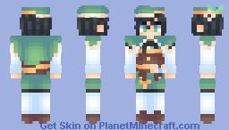 venti from genshin impact Minecraft Skin