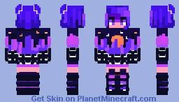 Vaporwave 無ゝの Minecraft Skin