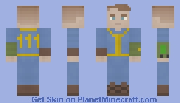 Vault Suit Minecraft Skin