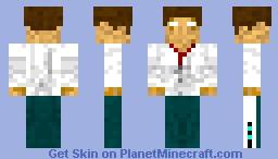 Herobrine Chef Minecraft Skin