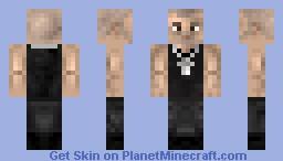 Dom Toretto (Vin Diesel) Minecraft Skin