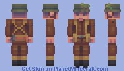 VE Day Minecraft Skin