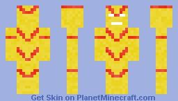 Vector (U-Foes) Minecraft Skin
