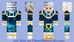 Vegeta Mastered Ultra Instinct God Of Destruction Minecraft Skin