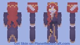 [X] Void Queen Minecraft Skin