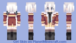 Konno Junko - ZLS Minecraft Skin