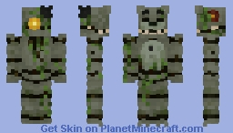 Verdant Freddy | Spring community event Minecraft Skin