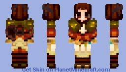 I found a way to make bangs in mc skins and now I'm obsessed ⋆ (NOT MY ORIGINAL CHARACTER DESIGN!!) Minecraft Skin