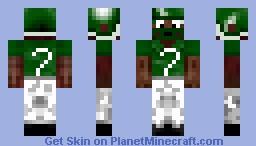 Michael Vick Minecraft Skin