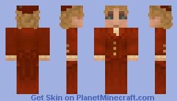 Victorian Dress 2 (in russet) Minecraft Skin