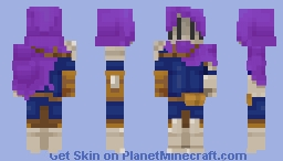 The Mute Adventurer Minecraft Skin