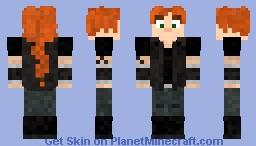 Вики Метал Фемили / Viki Metal Family Minecraft Skin