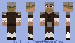 Viking dressed for winter Minecraft Skin