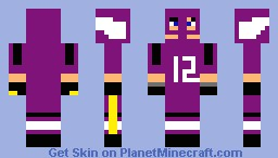 vikings player Minecraft Skin