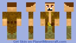 A villager Minecraft Skin