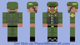 Villager Infantry Minecraft Skin