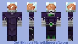 Brainborg (Villain) Minecraft Skin