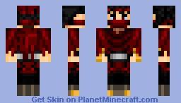 Vincent (Final Fantasy 7) Minecraft Skin
