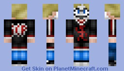 Insane Clown Posse Violent J Minecraft Skin