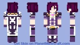 Request ~ Violet 🌟 Minecraft Skin