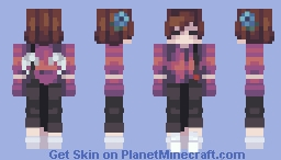 Violets Are Blue Minecraft Skin
