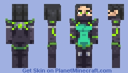 Viper (Valorant) Minecraft Skin