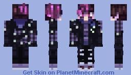 Virgil Sanders (Anxiety) Minecraft Skin