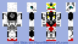 Gundam Virtue (from Gundam 00) Minecraft Skin