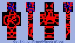 Virus with little viruses Minecraft Skin