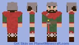 Visigothic Warrior Minecraft Skin
