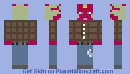Vision (WandaVision 1x05) Minecraft Skin