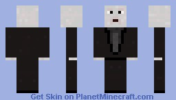 Voldemort 1st attempt Minecraft Skin