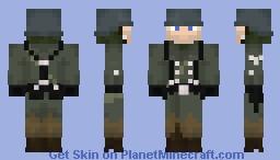 Volksgrenadier (dirty) Minecraft Skin