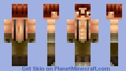 Von Kaiser [Punchout] Minecraft Skin