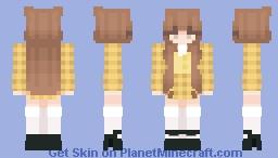 chuu | heart attack Minecraft Skin
